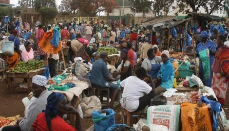 Markt in Loitokilok - Kenia
