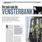 De Taal van de Vensterbank - Interview met Nina Elshof