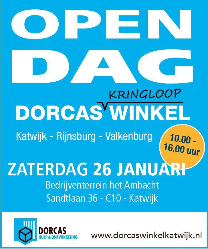 Open Dag Dorcaswinkel Katwijk